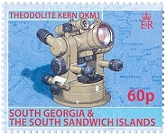 Kern DKM1 in Philately